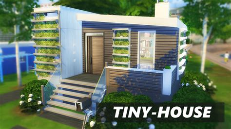 how to build a tiny house part 4 building the frame the sims 4 tiny house build 2xbedrooms youtube