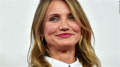 Cameron Diazs New Is Wired The Entertainment by Cameron Diaz Says She S Actually Retired Cnn