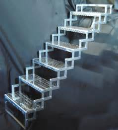 Folding Stairs Design Solutions To Stairs Part 2 Folding Quot Scissor Quot Steps Core77