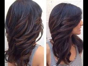 hair styles cut hair in layers and make curls or flicks how to cut your own hair in long layers at home youtube