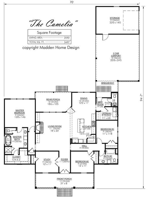 madden home design house plans madden home design the