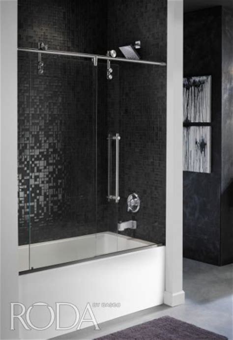 Roda Rolaire Customized To Compliment The Height Of A Roda Shower Door