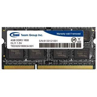 Ram Team Elite So Dimm Ddr3l Pc12800 4gb Low Voltage Ted3l4gm1600c11 4gb teamgroup elite series ddr3l 1600 so dimm cl11 single so ddr3 1600 mindfactory de