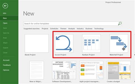 Keep Track Of Your Project The Agile Way Using Microsoft Project Zenkit Ms Project Templates