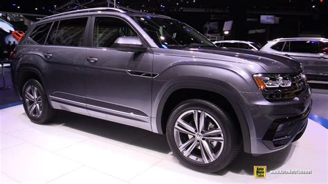 2018 Volkswagen Atlas R Line Exterior And Interior