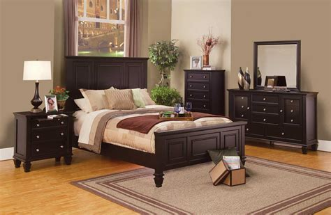 Cappuccino Bedroom Furniture by Coaster Panel Bedroom Set Cappuccino 201991