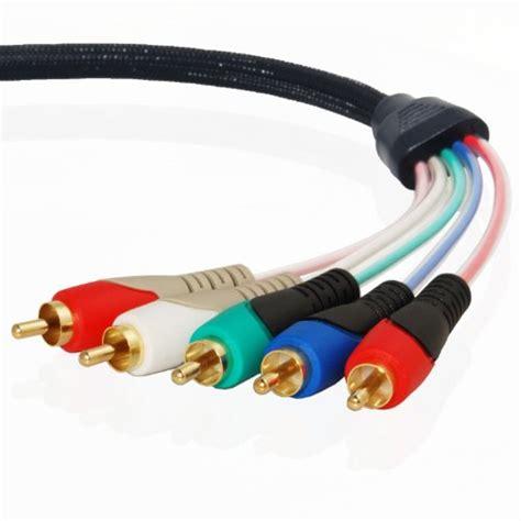 mediabridge component video cables  audio  feet