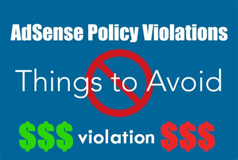 adsense new policy guide that can save you getting banned in adsense