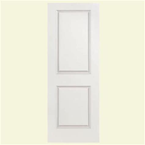 masonite solidoor smooth 2 panel square solid core primed masonite 36 in x 80 in solidoor smooth 2 panel solid