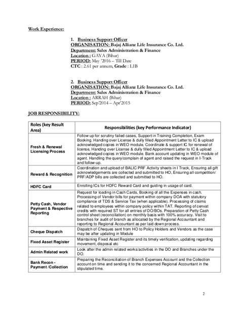 Finance Department Bihar Letter Resume Of Pramendra Kumar