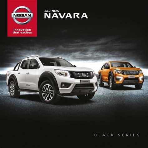 Cermin Depan Nissan Navara nissan navara siri hitam baharu hitam itu menawan careta