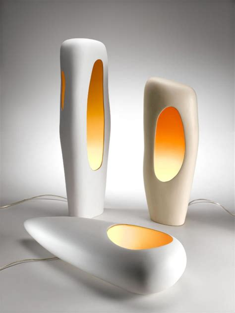 Modern Vintage Furniture by Modern Ceramic Lamps By Mamati Digsdigs