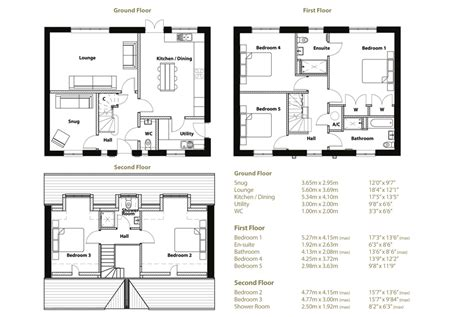 New House Floor Plans beacon gardens grantham new homes home 171 beacon
