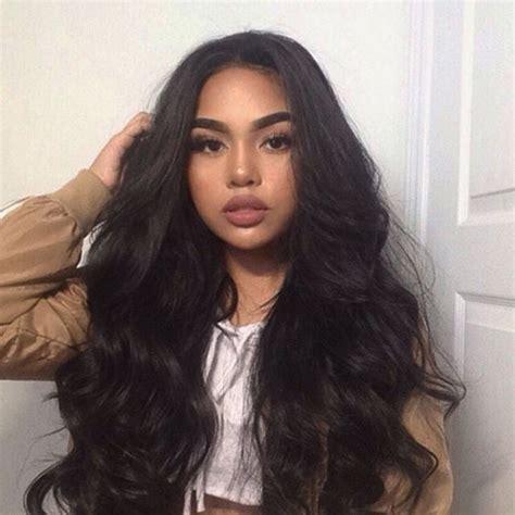 hairstyles for long black hair pinterest best 25 long weave hairstyles ideas on pinterest
