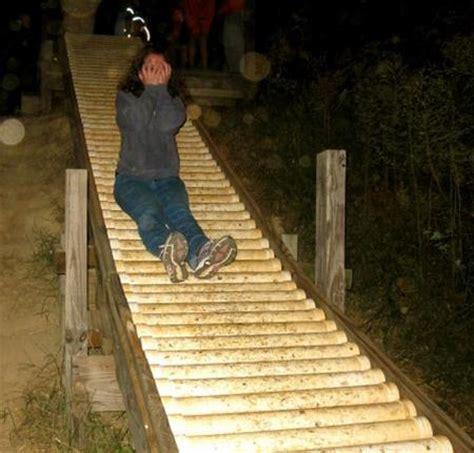diy backyard slide roller slide on a farm 171 pvc innovation