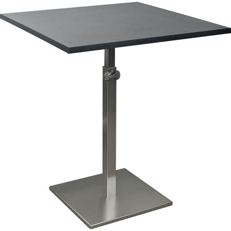 Adjustable Bistro Table Balt Height Adjustable Bistro Table 90353 Caf 233 Tables Worthington Direct