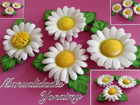 flores de foamy margaritas de foamy o goma eva con termoformado funnydog tv