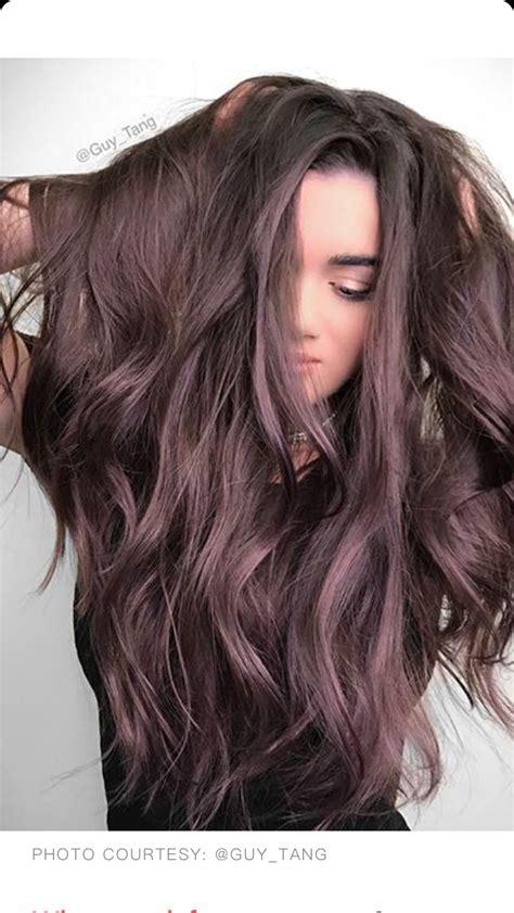 brown amethyst hair color tang hair