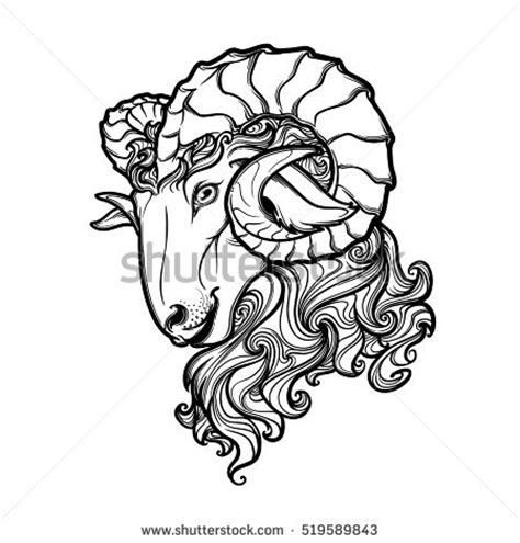 ram tattoo stock images royalty free images amp vectors
