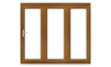 golden oak doors 8ft golden oak upvc bifold folding door set flying doors