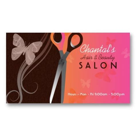 salon business card template cosmetologist ornate flower motif grey modern business