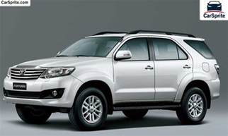 Toyota Car Prices Toyota Fortuner 2017 Prices And Specifications In Kuwait