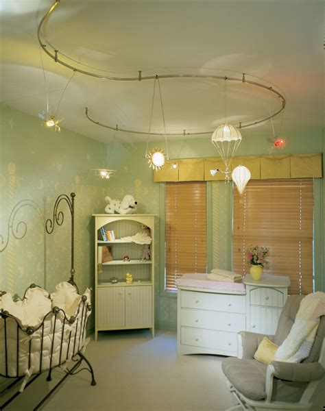 Baby Nursery Decor: Cool Furnishing Baby Nursery Lighting Ideas Complements House Decorative
