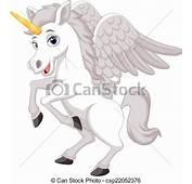 Ilustraciones Vectoriales De Caricatura Unicornio