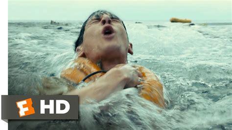 the open boat movie unbroken 2 10 movie clip plane crash at sea 2014 hd