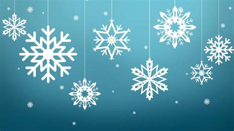 snowflake christmas ornaments wallpaper