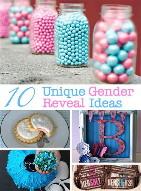 10 Unique Gender Reveal Party Ideas   Craftfoxes