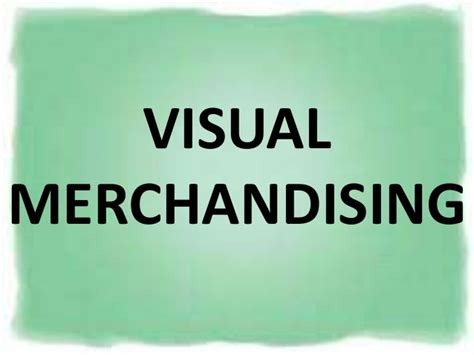 Visual Merchandising Attraction 5 visual merchandising trends of 2016