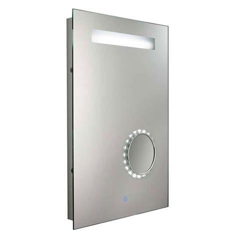 bathroom mirror light shaver socket fluorescent bathroom touch mirror light with shaver socket