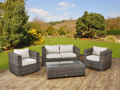 two seater sofa set 2 seater ascot rattan sofa set truffle and chagne