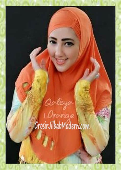 Gamis Original Syiria 1 jilbab syria modis nuha original by qalisya no 1 orange