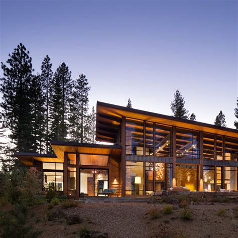 modern mountain homes martis modern mountain home by ward young architecture