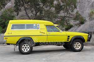 Hj Chevrolet Sold Holden Hj Overlander 4x4 Sandman Panel Auctions