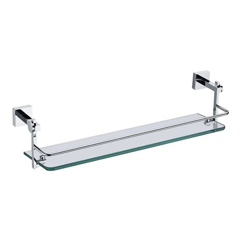 Colored Glass Bathroom Accessories by Bathroom Bath Shelves New Modern Chrome Colored Bath