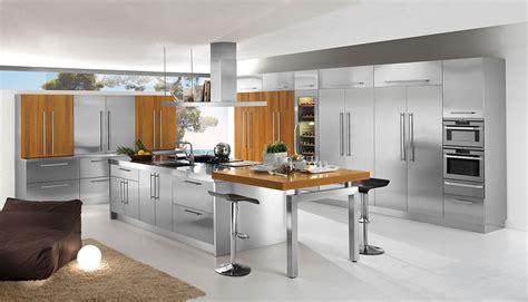 mobili cucina acciaio 20 cucine in acciaio dal design moderno con un tocco