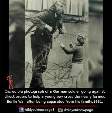 Berlin Meme - incredible photograph of a german soldier going against