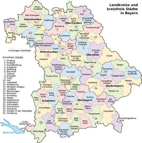 cities in germany map of bavaria 2008 full size
