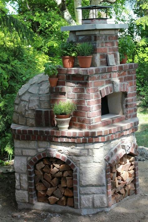 Outdoor Wood Fired Pizza Oven Canada