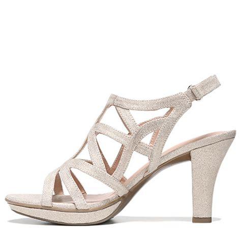 naturalizer danya sandal naturalizer danya strappy sandals taupe gold boscov s