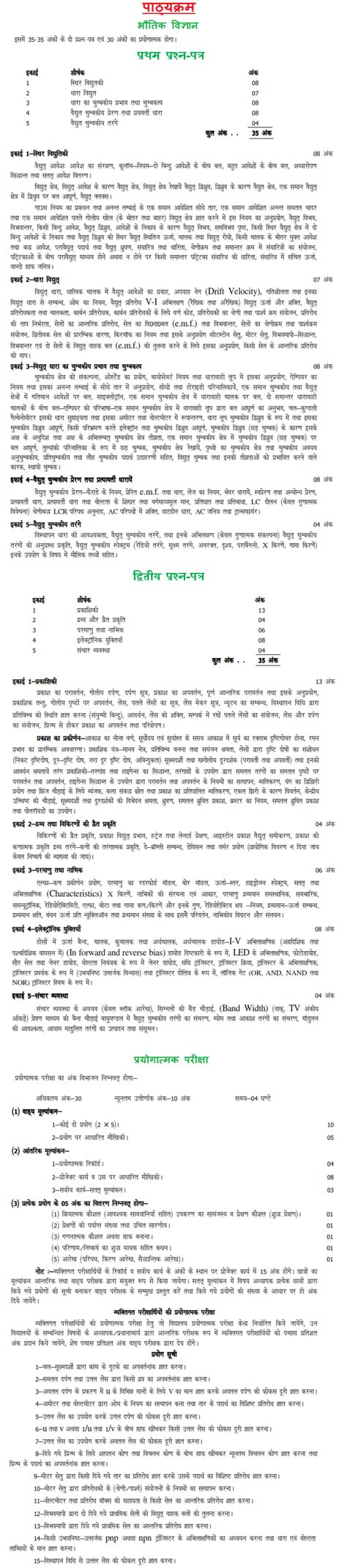 new pattern up board maths syllabus for class 12 up board up board class 12