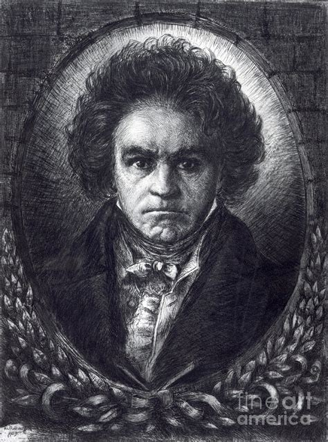 ludwig van beethoven biography german ludwig van beethoven german composer photograph by