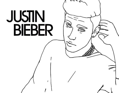 justin bieber coloring pages games justin bieber popstar coloring page coloringcrew com