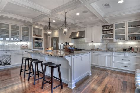 Cape Cod Kitchen Cabinets by White Backsplash For Traditional Kitchen With Cape Cod