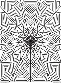 printable geometric coloring pages free printable coloring pages geometric 2015