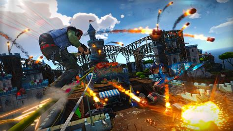 theme park xbox one sunset overdrive finally a reason to buy xbox one wired
