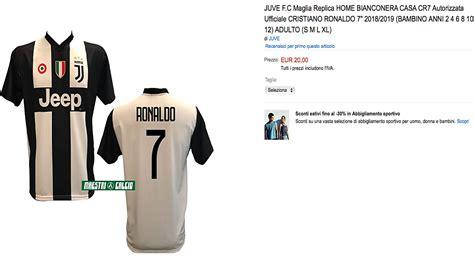 ronaldo juventus maglia ronaldo 232 della juve per che vende gi 224 la maglia nuova societ 224
